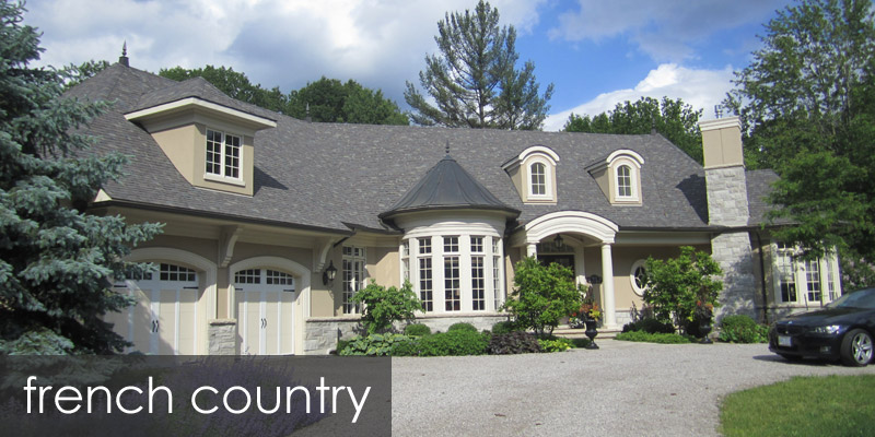 Residential architecture cianfrone architect French country architecture residential